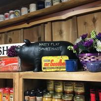 Black Pig and Jars