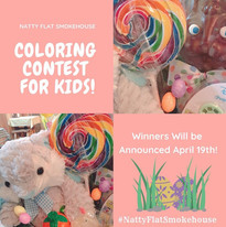 Coloring Contest for Kids Poster