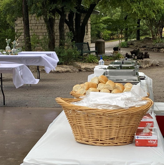 Catering - Wedding - Tables Outdoors1000