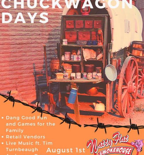 Chuck Wagon Days-3rd Anniversary