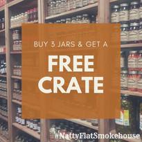 Buy 3 Jars Get a Free Crate