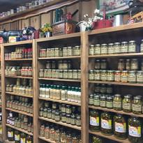 Merchandise Jars Shelves