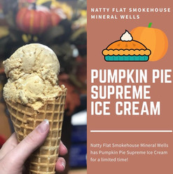 Pumpkin Pie Supreme Ice Cream