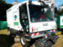 Green Waste Pro Road Sweeper