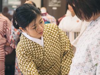 夏祭り前に1Day 浴衣 Lesson開催!