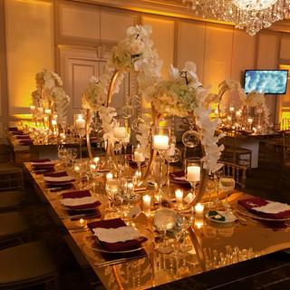 Luxe Gold & White Wedding