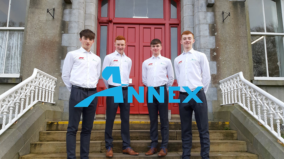Annex - Photo at front of school for web
