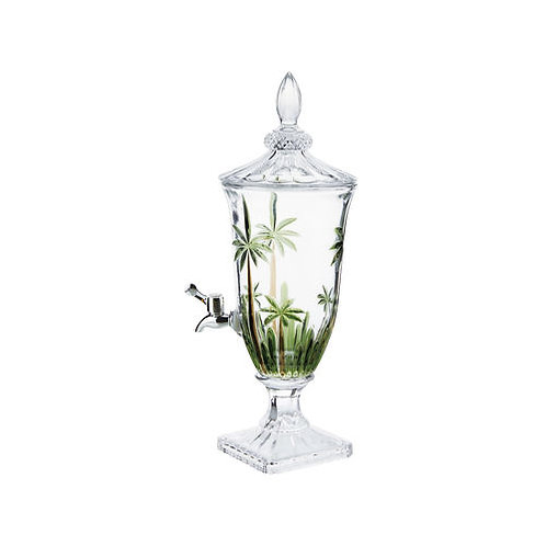 Dispenser de Cristal Palm Tree Handpaint 2 Litros - Wolff