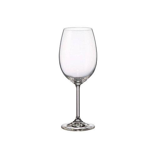 Taça de Cristal Ecológico p/ Vinho Gastro 450ml Transparente - Bohemia