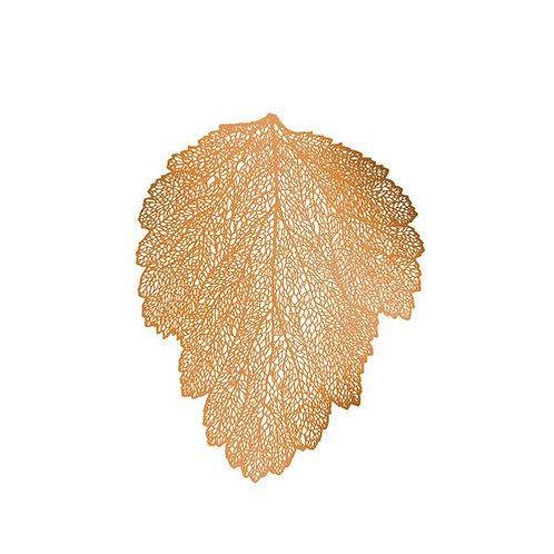 Lugar Americano de Plástico Leaf 48x36cm - Cores