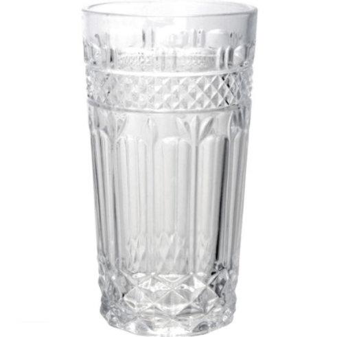 Copo de Vidro p/ Água Brand Transparente 270ml - BonGourmet