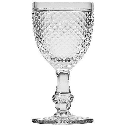 Taça Bico de Jaca Transparente 235ml