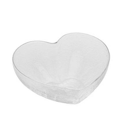 Bowl de Vidro Transparente Heart Tamanhos - Bon Gourmet
