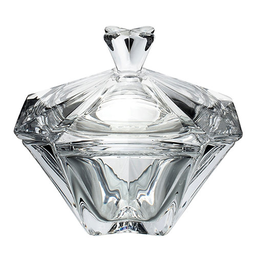 Bomboniere de Cristal Metropolitan 11x11x11,5cm - Lyor