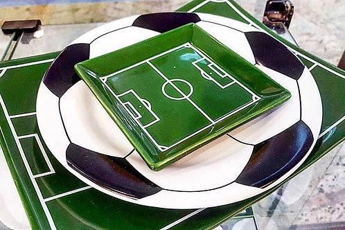 Prato de Pão Campo de Futebol - Cerâmica Scalla