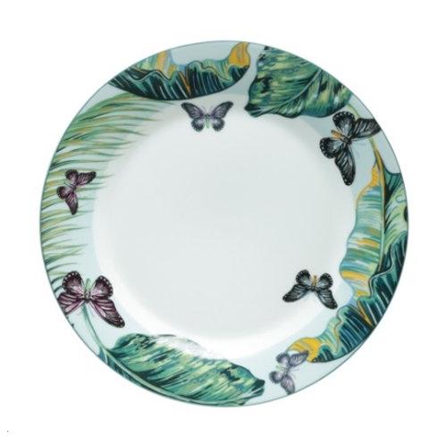 Prato Raso em Porcelana Nature - Lyor