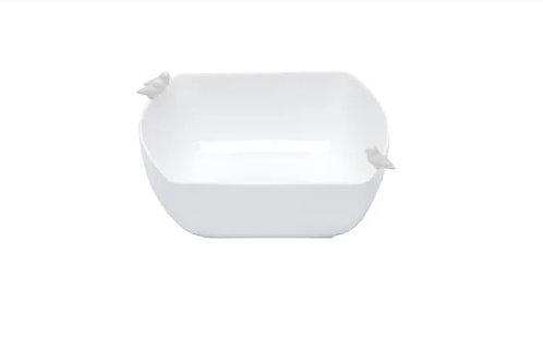 Bowl de Porcelana Bird Branco 12x10x7cm - Wolff