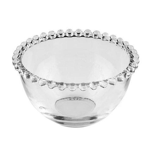 Bowl Cristal Transparente de Bolinhas Pearl 14x8cm - Wolff