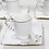 Thumbnail: Conj. 6 Xícaras de Café c/ Pires de Porcelana Birds Colorido 80ml Wolff