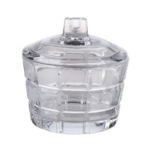Açucareiro de Cristal Deli 10x10cm - Lyor