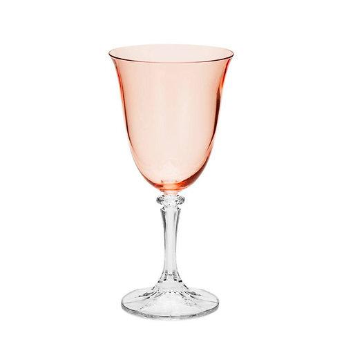 Taça de Cristal Ecológico para Água kleopatra Rose Quartz 360ml - Bohemi
