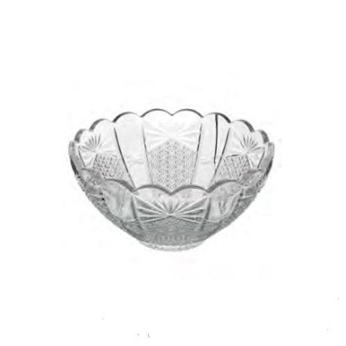 Bowl de Cristal Transparente Princess 10x5cm - Wolff