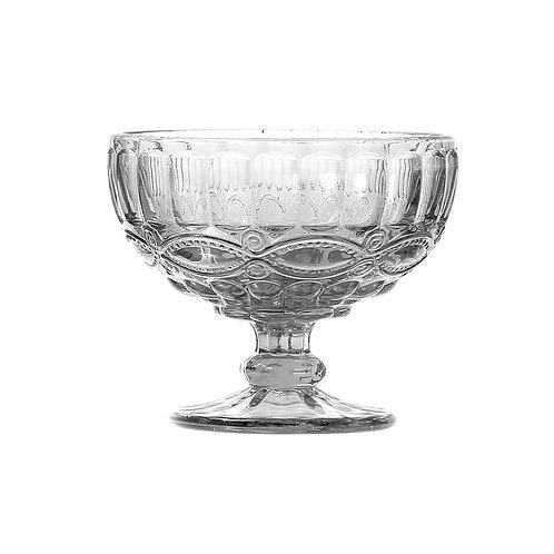 Taça para Sobremesa de Vidro Sodo-Calcico Libélula Transparente 310ml - Lyor