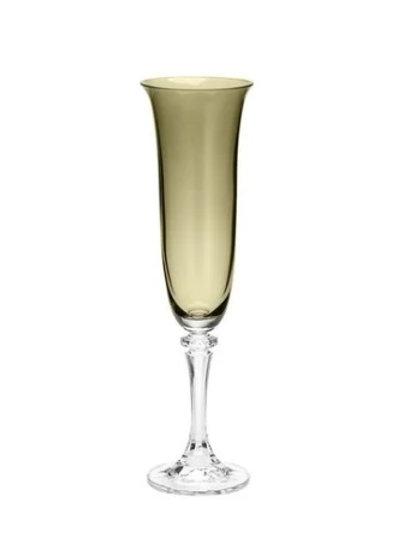 Taça de Cristal Ecológico para Champagne Kleopatra Kale 175ml-Bohemia