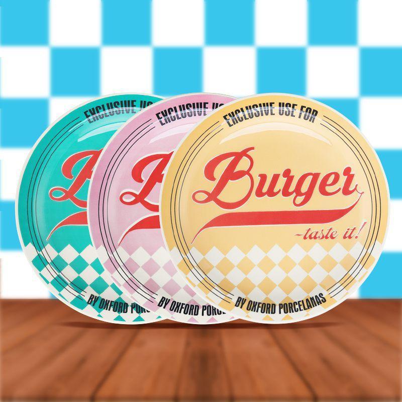 Pratos de Hambúrguer