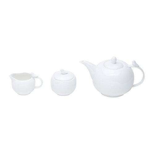 Jogo 3 Peças De Porcelana Para Chá/Café Birds Wolff