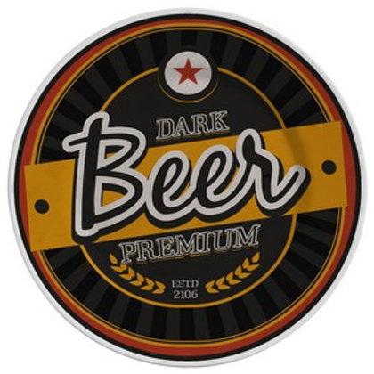 Prato Sobremesa em Cerâmica Beer Dark Premium 19,5cm - Alleanza