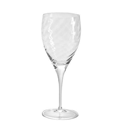 Taça em Cristal Água Rigado Transparente 470ml - Oxford