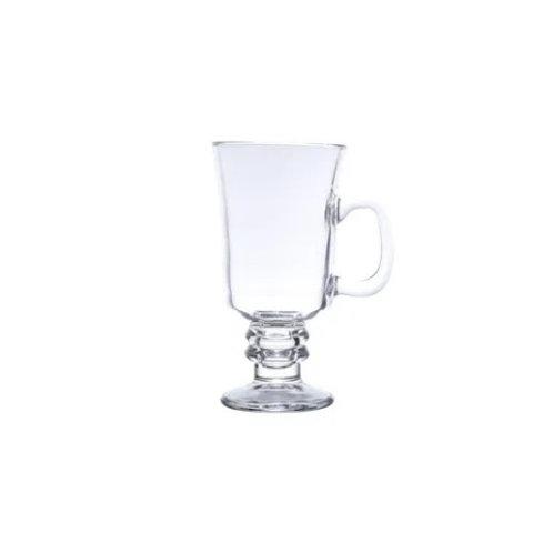 Taça p/ Cappuccino de Vidro 250ml - Lyor
