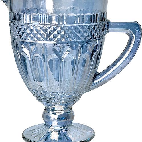 Jarra de Vidro Sodo-Calcico Brand Azul Metalizado 1L. - BonGourmet