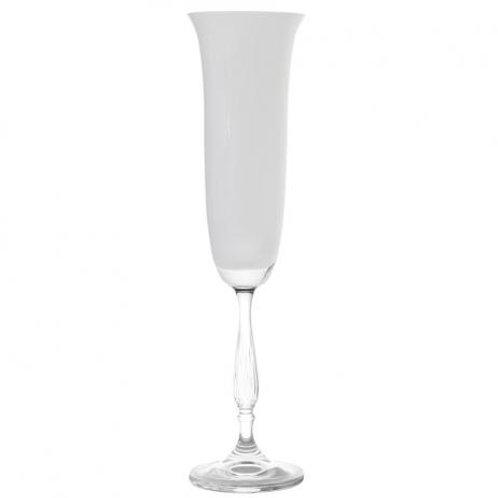 Taça Champanhe 190ml Antik Branco - Bohemia Titanium