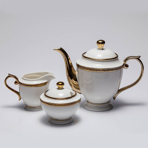 Conj. 3 Peças para Chá ou Café Paddy Wolff