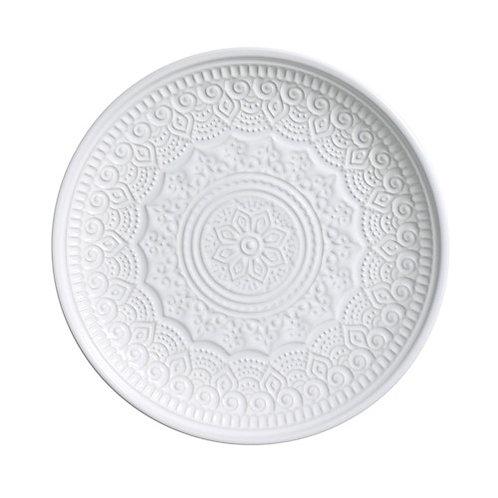 Prato Sobremesa Agra 20cm Branco - Porto Brasil