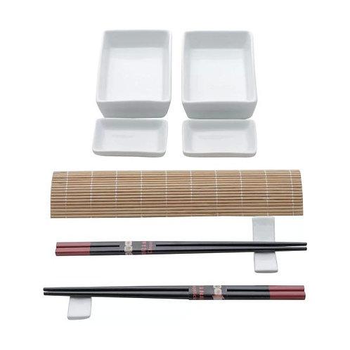 Conj. 10 Peças p/ Sushi de Bambu Kyoto - Lyor