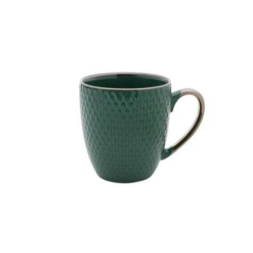 Caneca de Porcelana Drops Verde 400ml