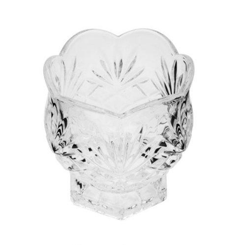 Porta Colher de Cristal Dublin 8x8cm - Lyor