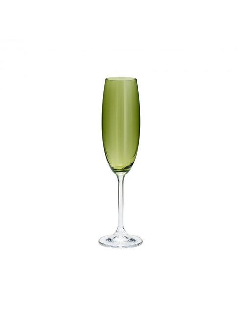 Taça Champanhe 220ml Gastro Greenery Bohemia