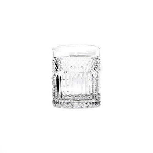 Copo p/ Whisky de Cristal Santorini 330ml