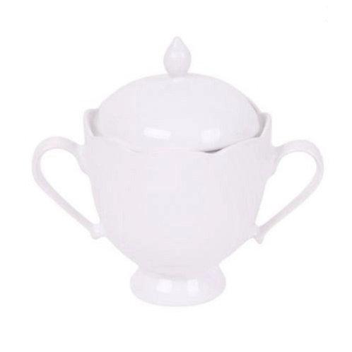 Açucareiro de Porcelana Solei Branco 200ml - Oxford