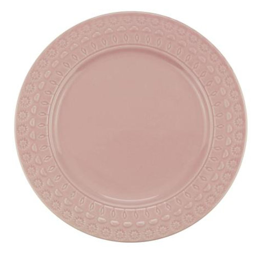 Prato Sobremesa em Porcelana Grace Rose 19cm - Wolff