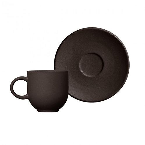 Xícara de Café Coup Stoneware Oak 97ml  - Porto Brasil