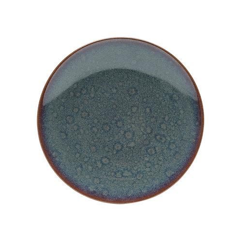 Prato Raso De Porcelana Reactive Glaze