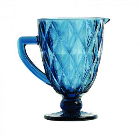 Jarra de Vidro Sodo-Calcico Diamond Azul 1L. - Lyor