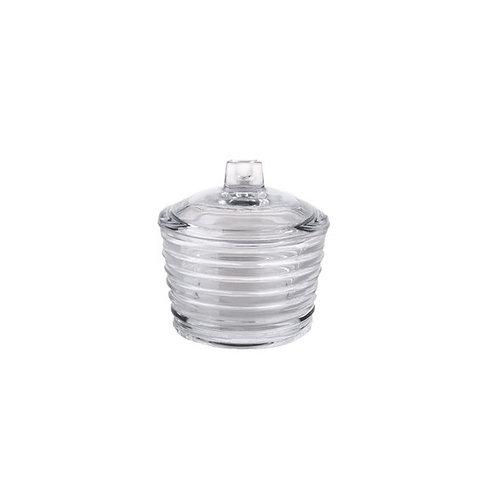 Açucareiro de Cristal Colmeia 10x10cm - Lyor