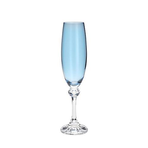 Taça de Cristal Ecológico para Champagne Elisa Island Paradise 220ml-Bohemia
