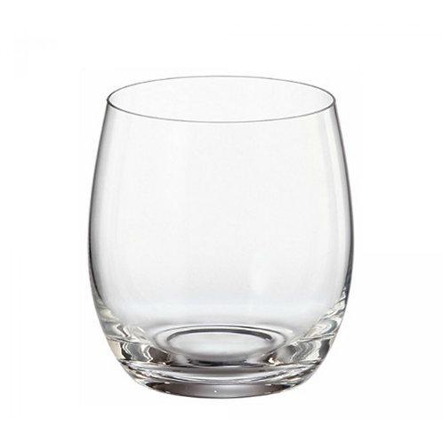 Copo Baixo p/ Whisky de Cristal Ecológico Mergus 410ml
